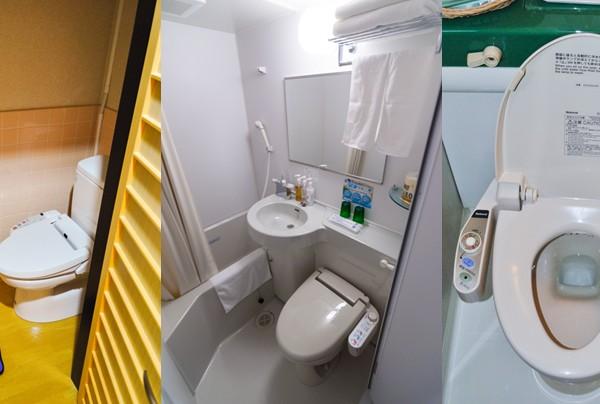 Toilettes électroniques Washlet, Japon