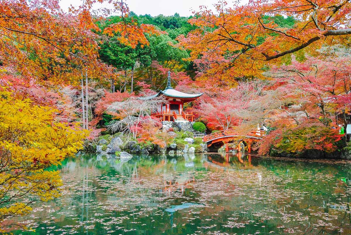 Daigo-ji (Kyōto) - Benten-dō