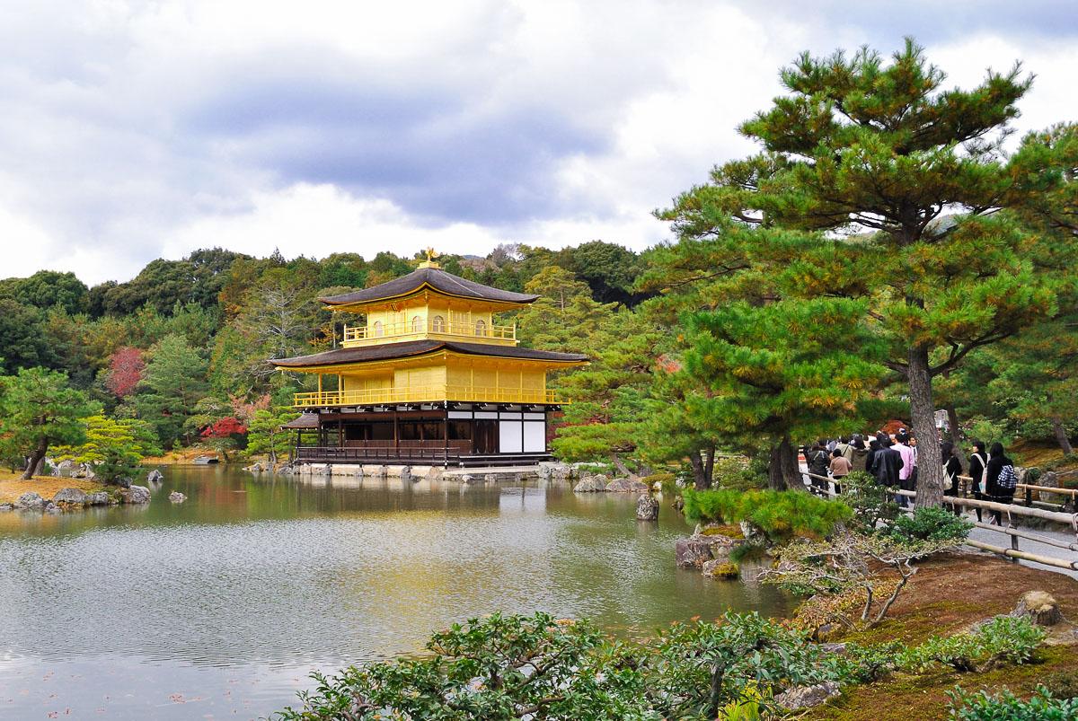 Kinkaku-ji (Kyōto), le pavillon d'or