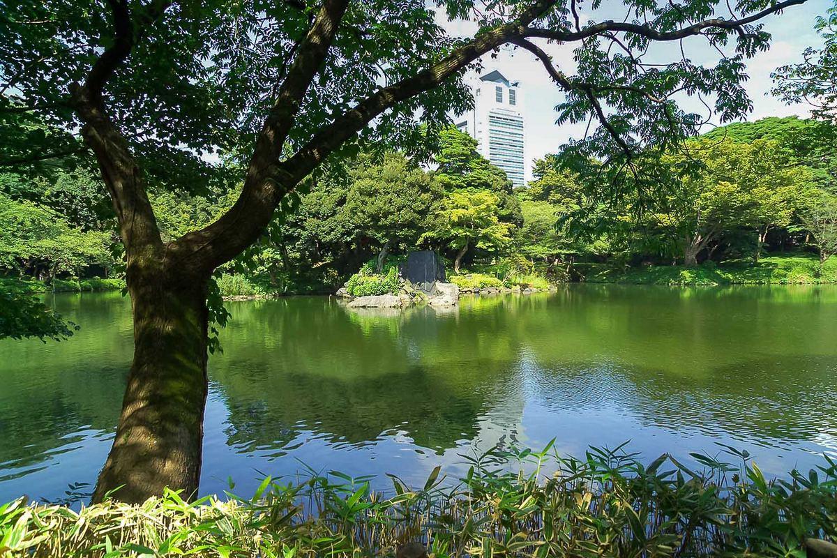 Koishikawa Kōraku-en - Vue sur le jardin