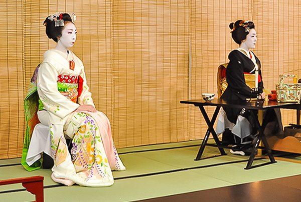Gion, Kyoto - Chanoyu durant le Miyako Odori