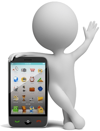 smartphone-personnage-3d