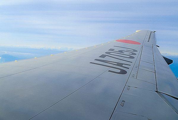 Avion et Mont Fuji